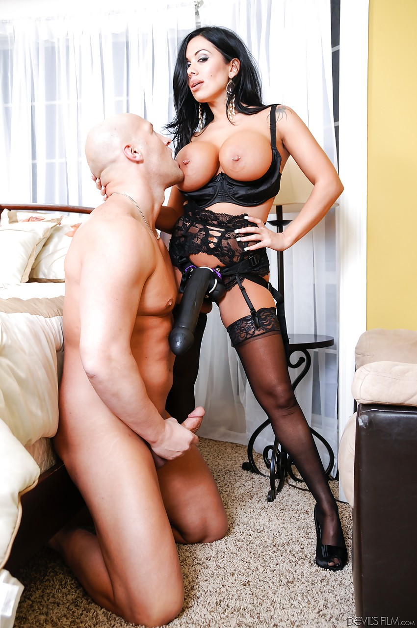 Milfs fucking with strap-on