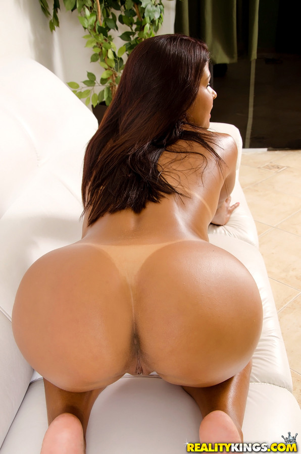 Big Butt Porn Stars Doggy - ... Hot Latina in shorts with huge ass fucking doggystyle & sucking ...
