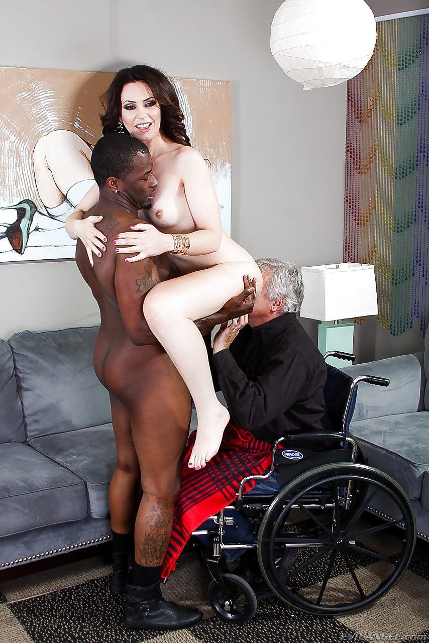 White wife fucking big black dicks