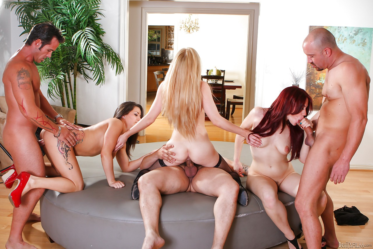 Free Group Sex Orgy
