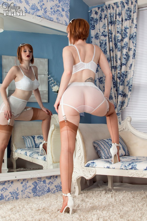 Can big tits garter belt and stockings consider, that