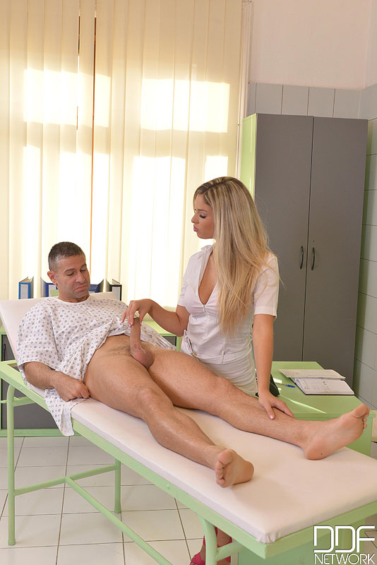 anal sex in uniform - ... Blonde European nurse Eva Parcker taking hardcore anal sex in uniform  ...