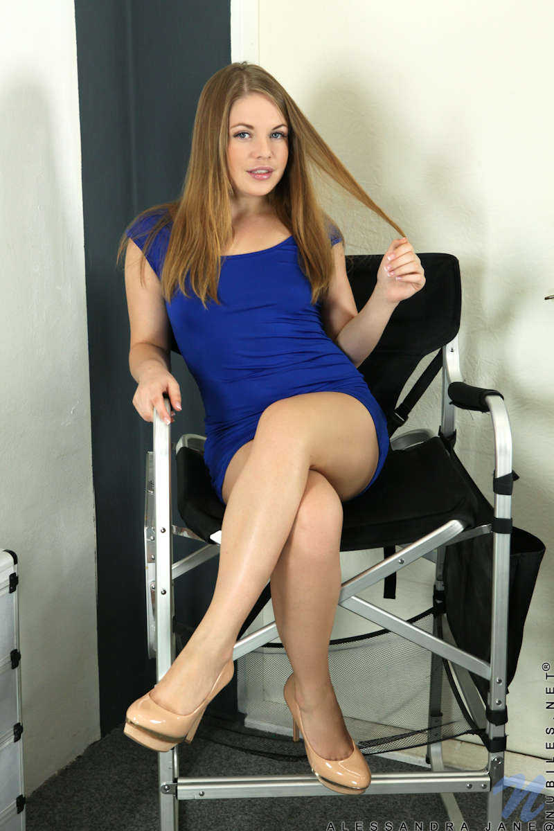 Tight dress pantyhose upskirt join told
