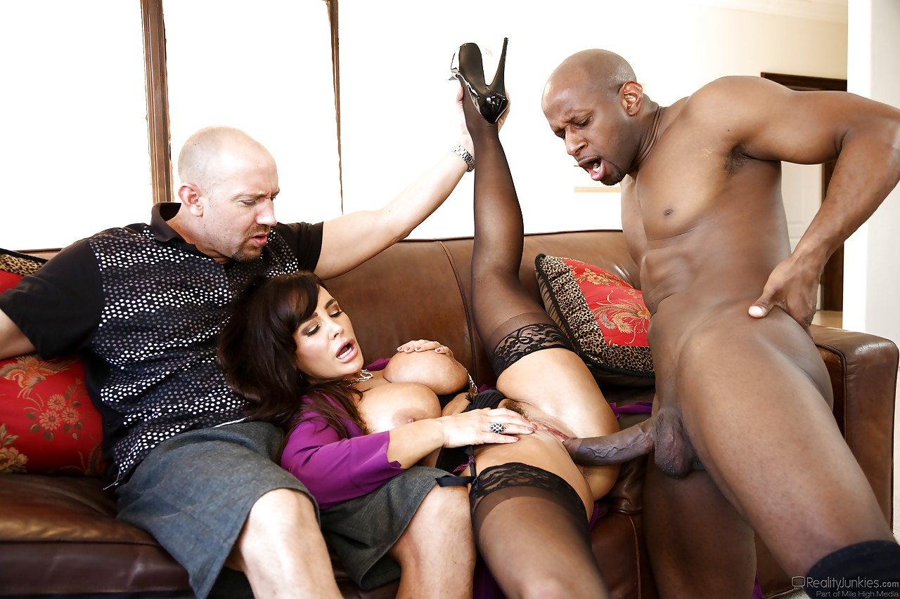 Big Boob Interracial Threesome