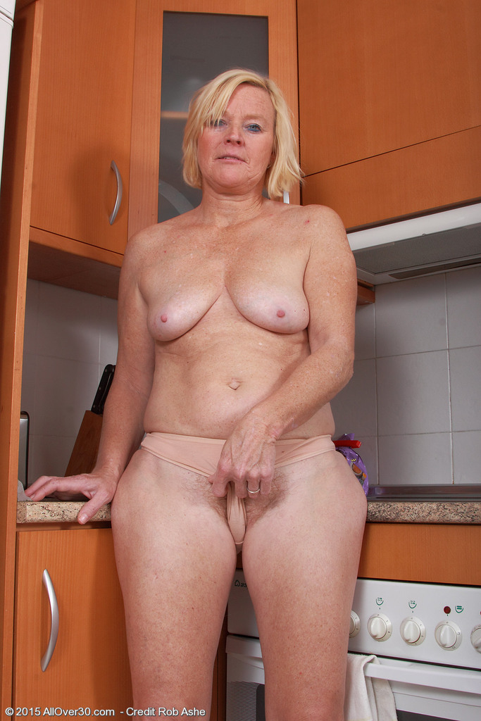 Mature Blonde Big Tits Boy