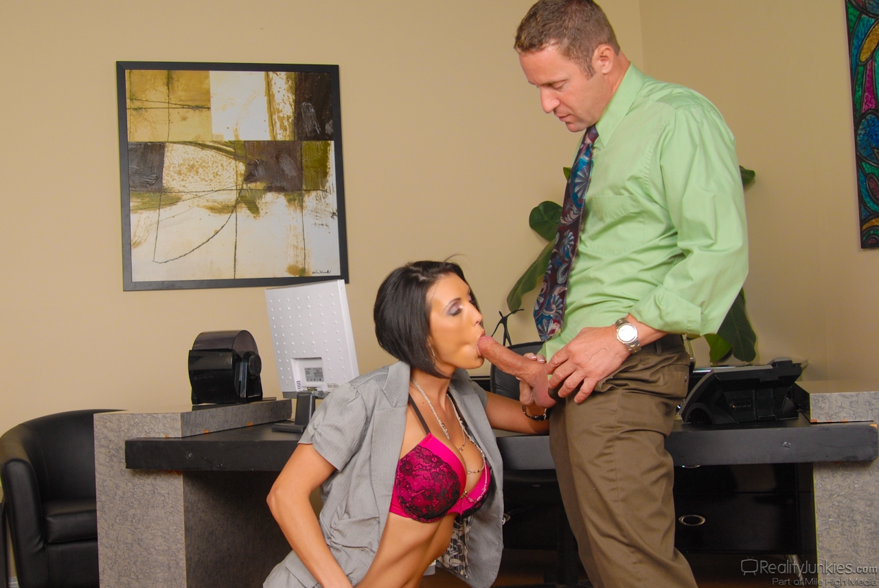 Big Tit Secretary Boss Fuck