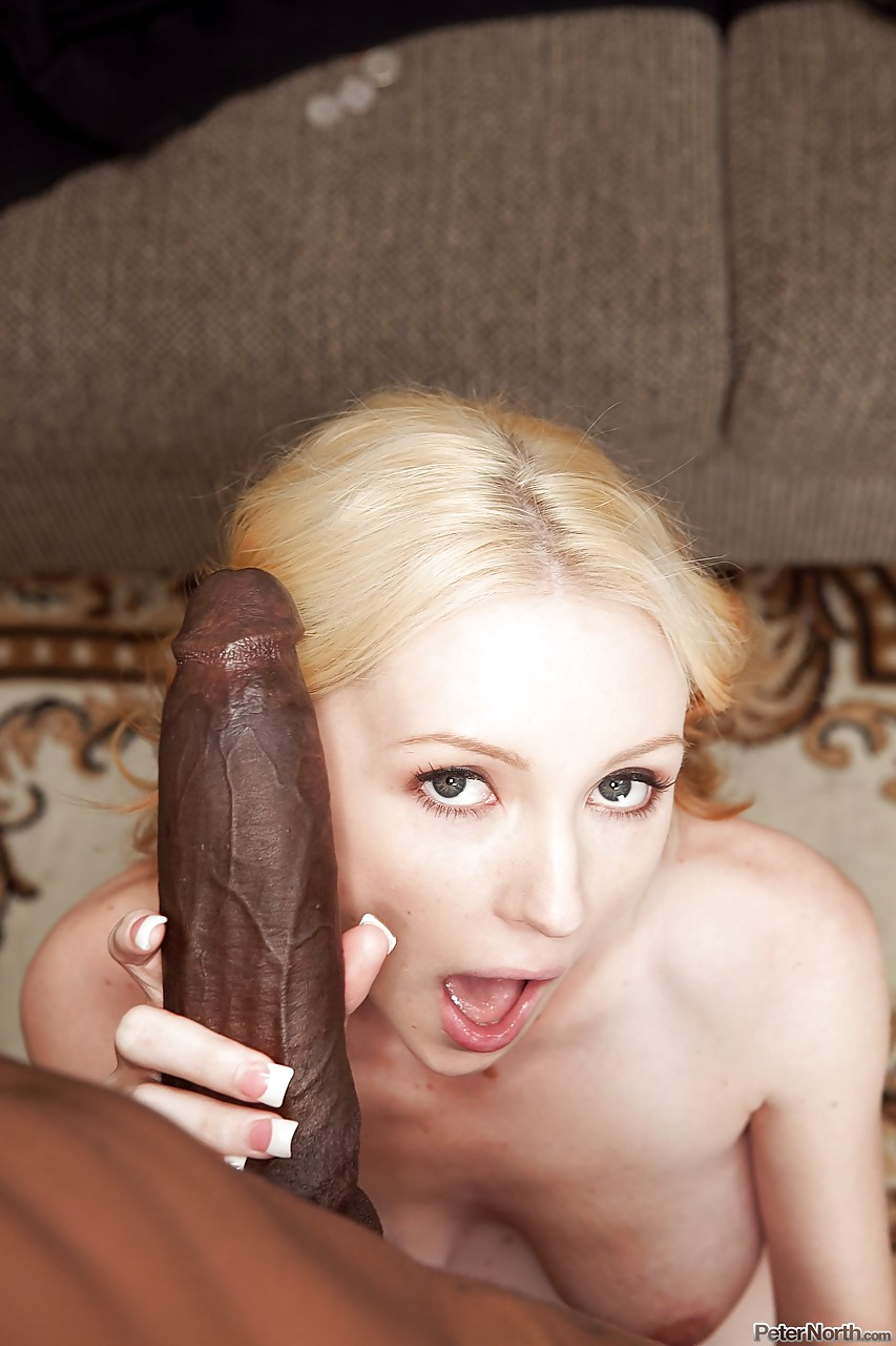 Innocent girl take huge cocks