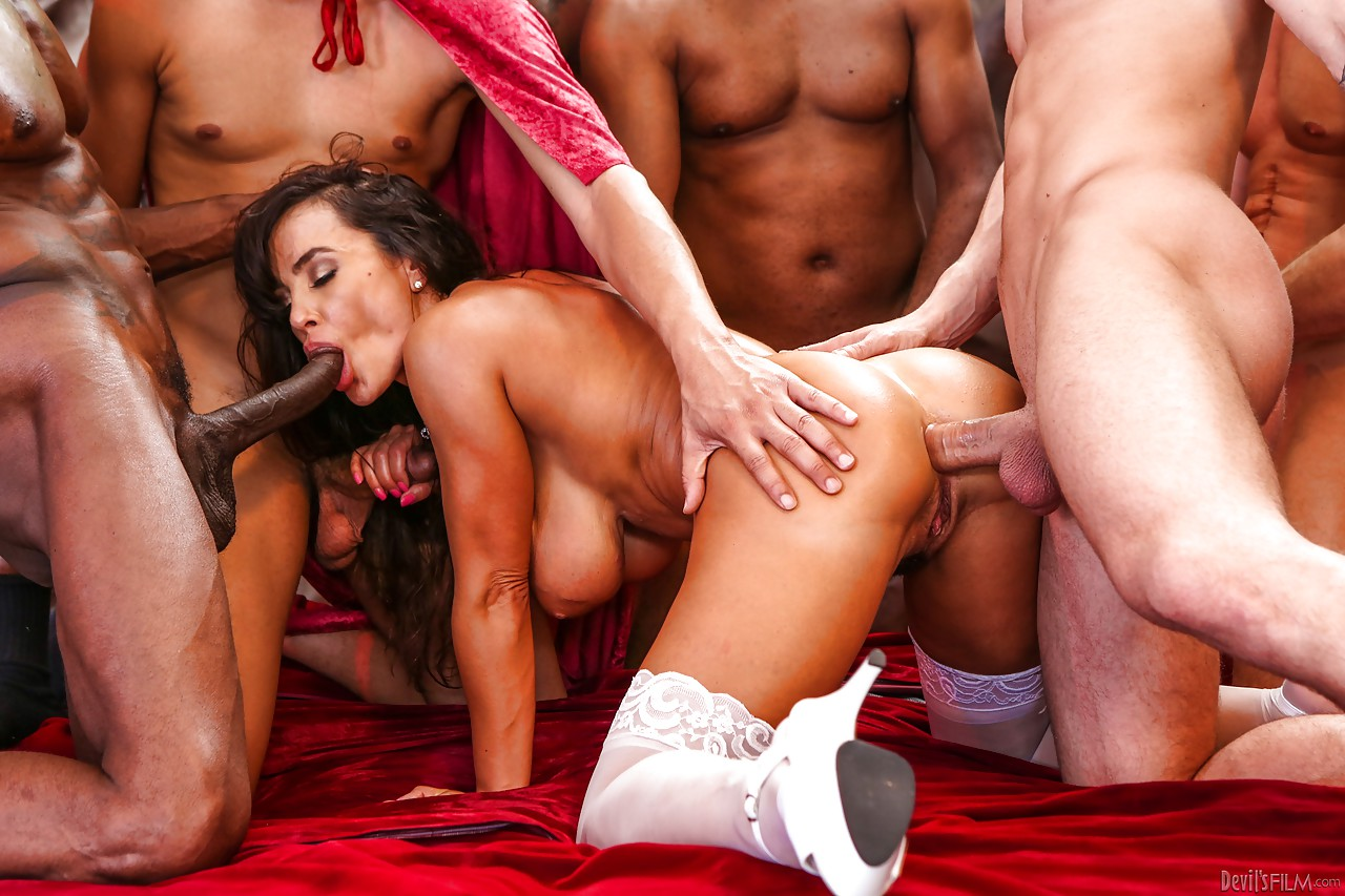 Free hard gangbang, husband makes wife a sex slave
