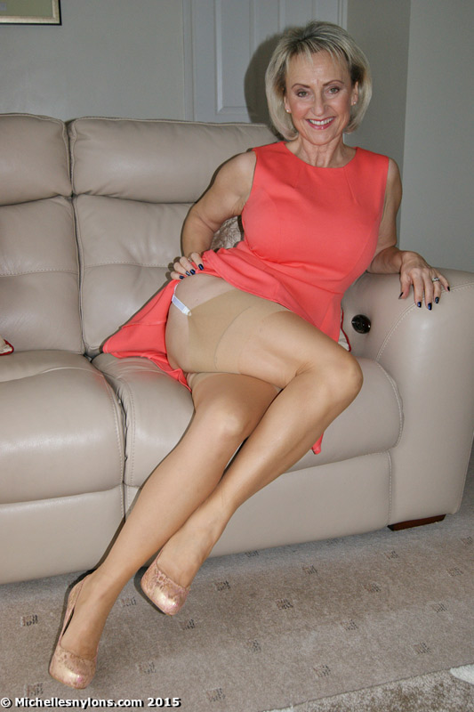 Upskirt and naked mature wormen