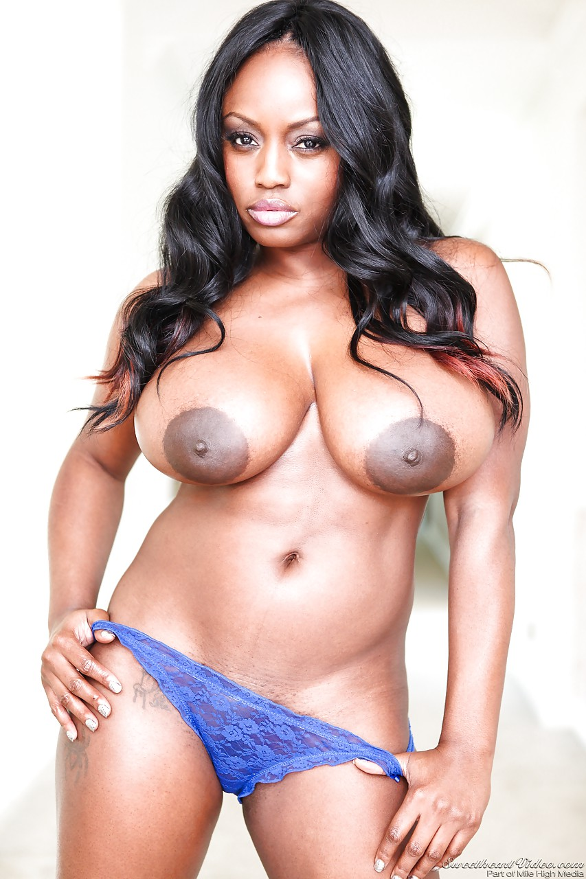 sexy ebony girls nyomi banxxx & jada fire with huge nipples fondling