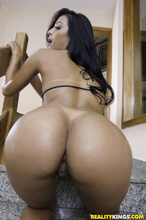 Latino ass cum