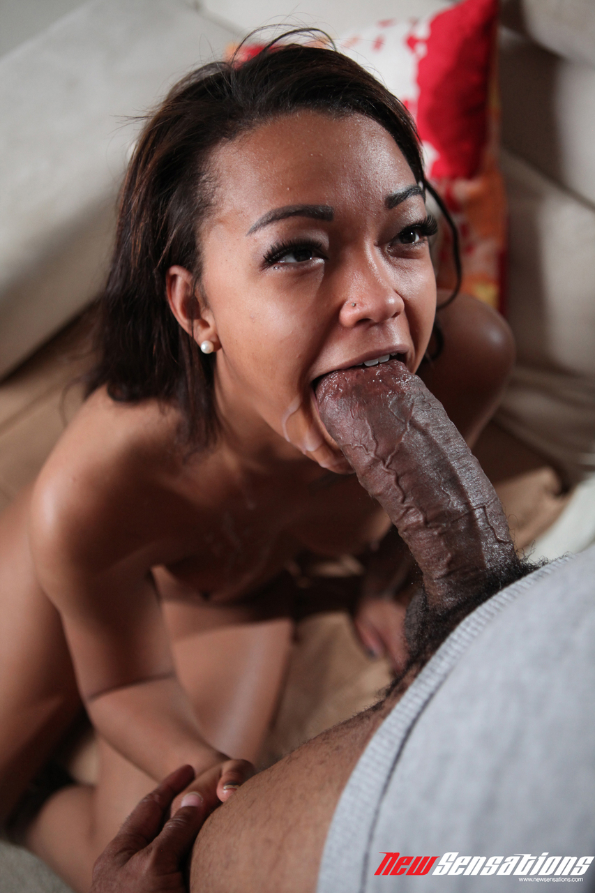 Huge cock blowjob black latina #11