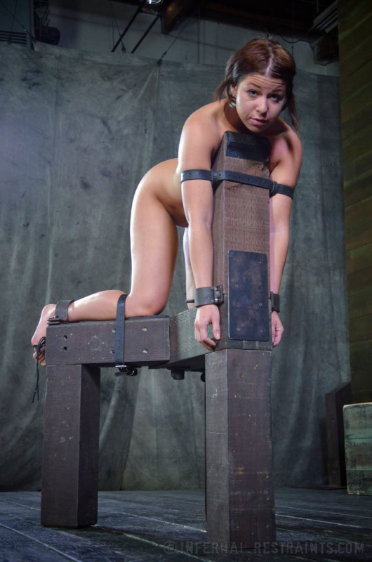 Girls in sex restraints