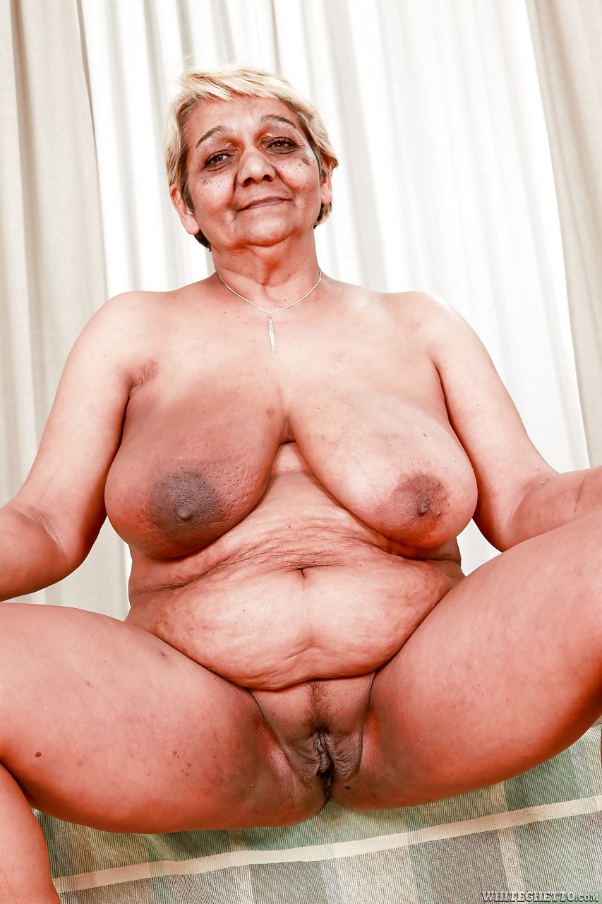 fat granny with large saggy tits sporting creampie after hardcore