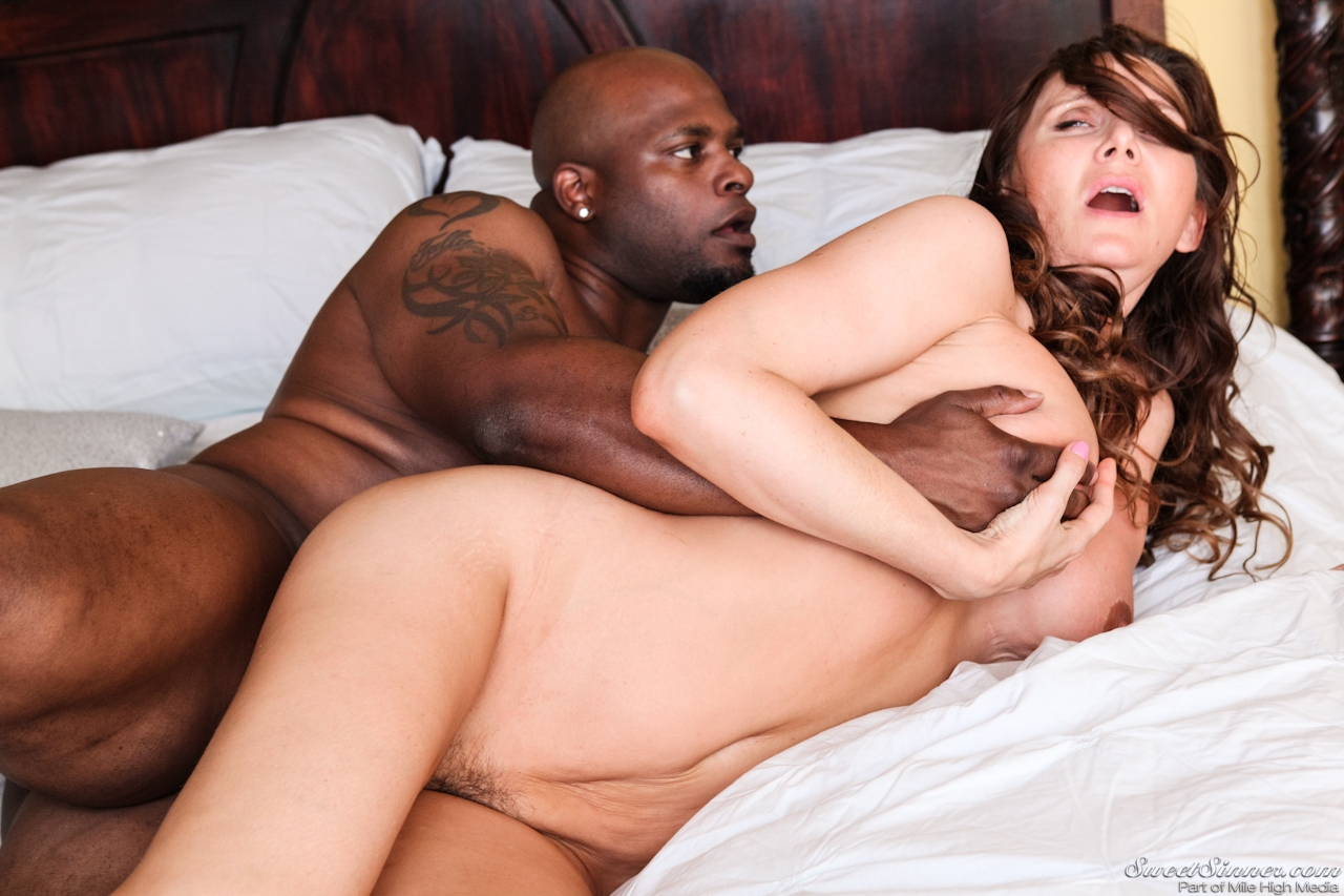 naked mom interracial video