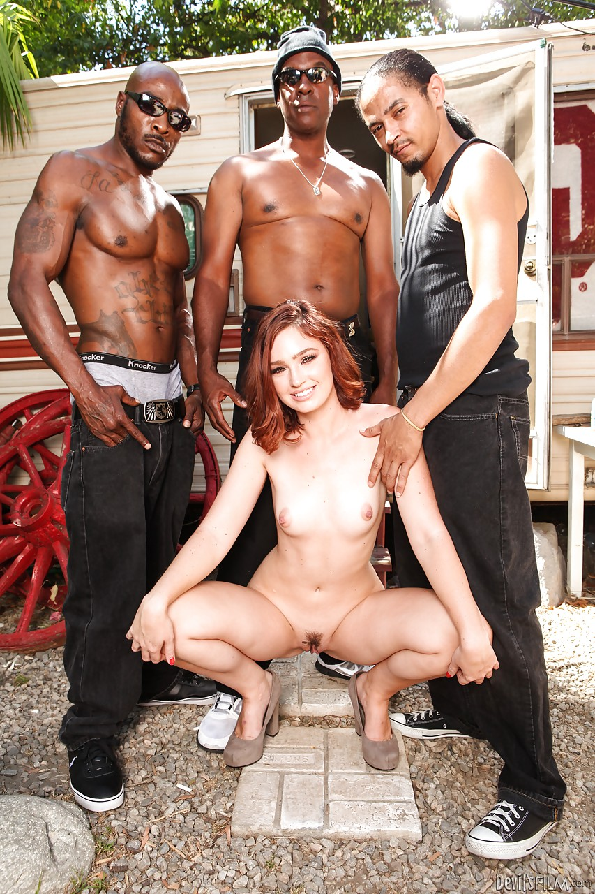 sexy boys outdoor gangbang