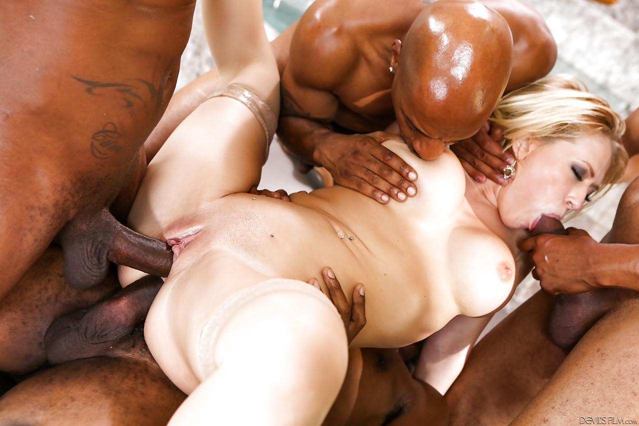 Black cock front fuck in wife