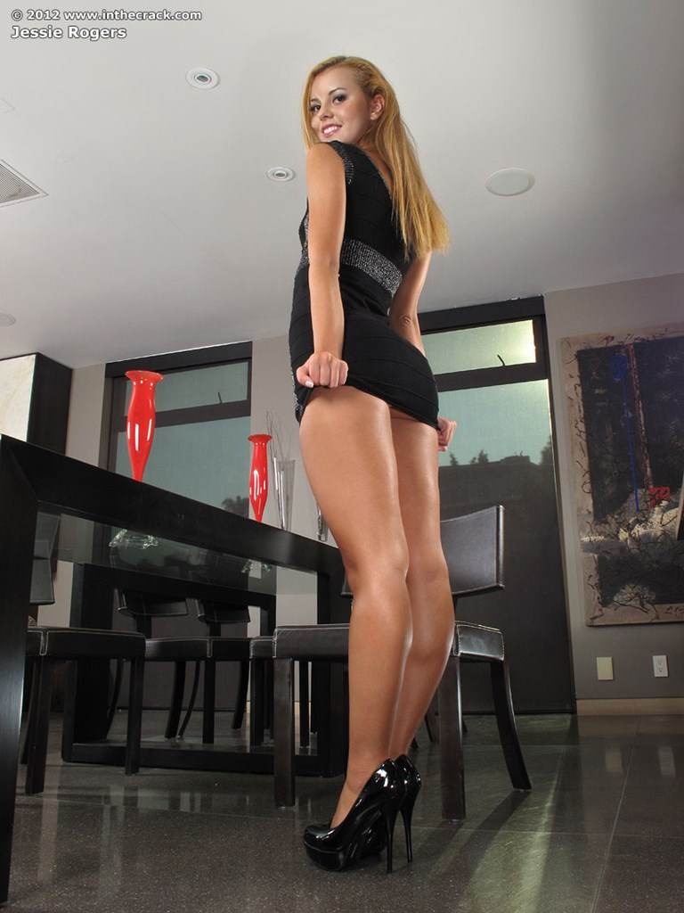 Sexy black dress porn there