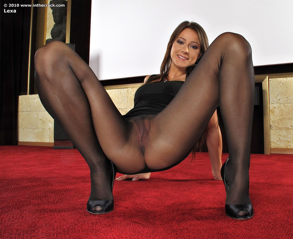 There any Pantyhose pussy and ass came this