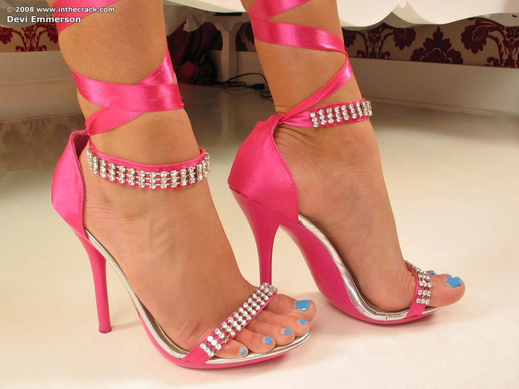 High heel close ups ankle strap porn pictures-817