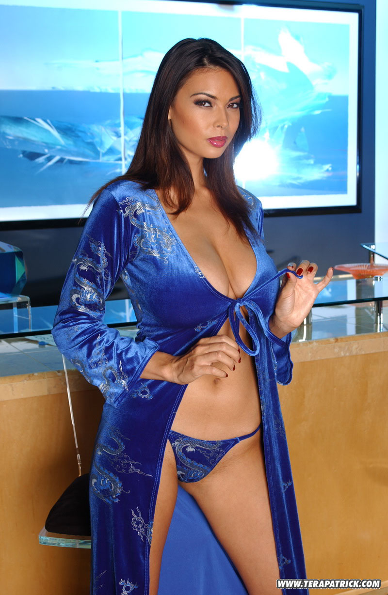 sexy asian milf pornstar tera patrick flaunts hot body fully clothed