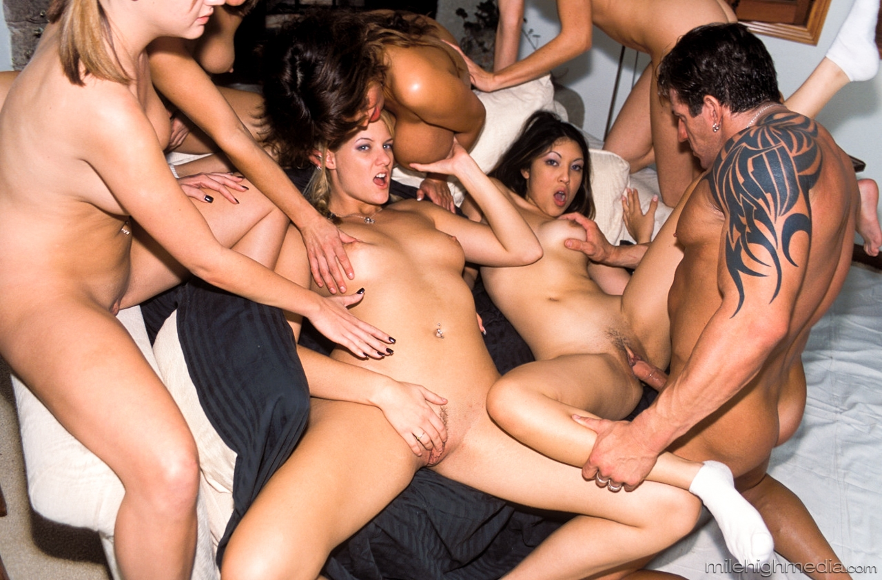 Ass fucking gang bang pic