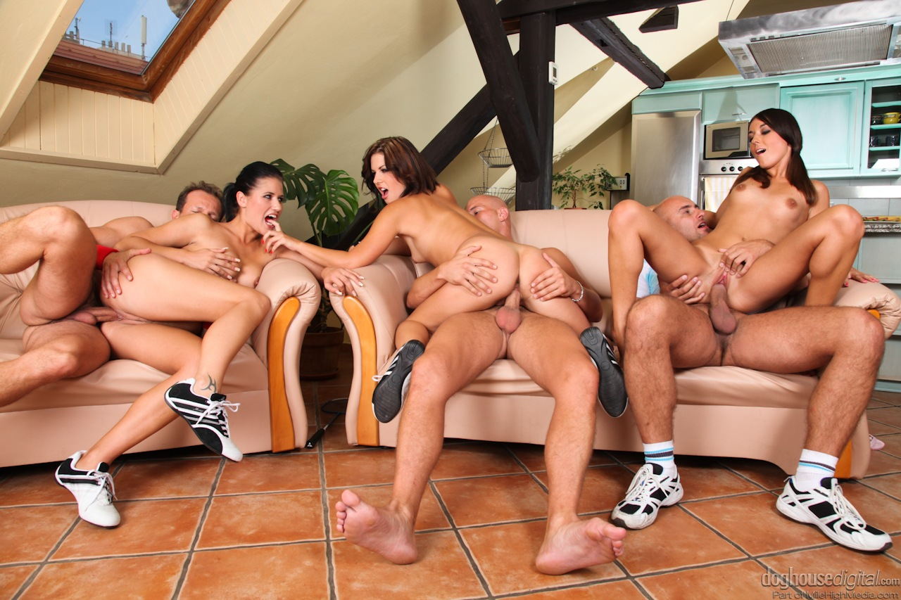 Group sex with members of my site