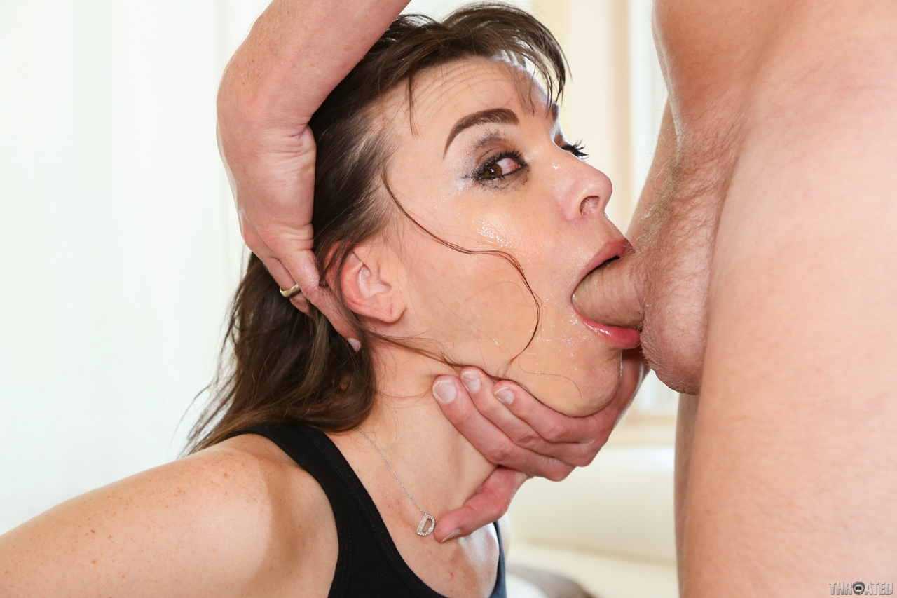Very Rough Oral Sex To Spew Thee