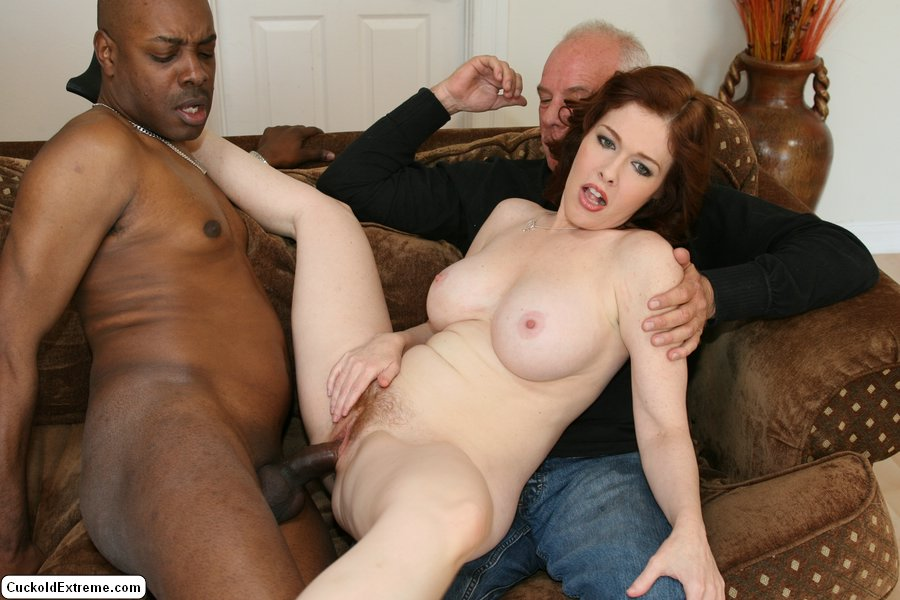 black Redhead wife craves