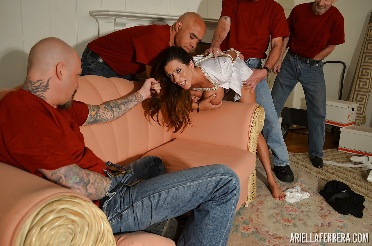 Milf in gangbang bondage, uk ass pictures
