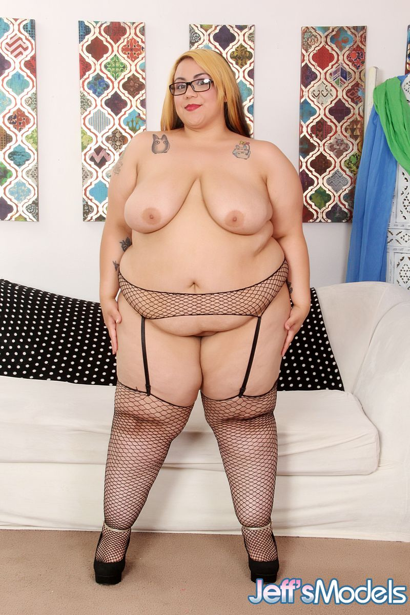 That bbw chubby fat women fishnet apologise