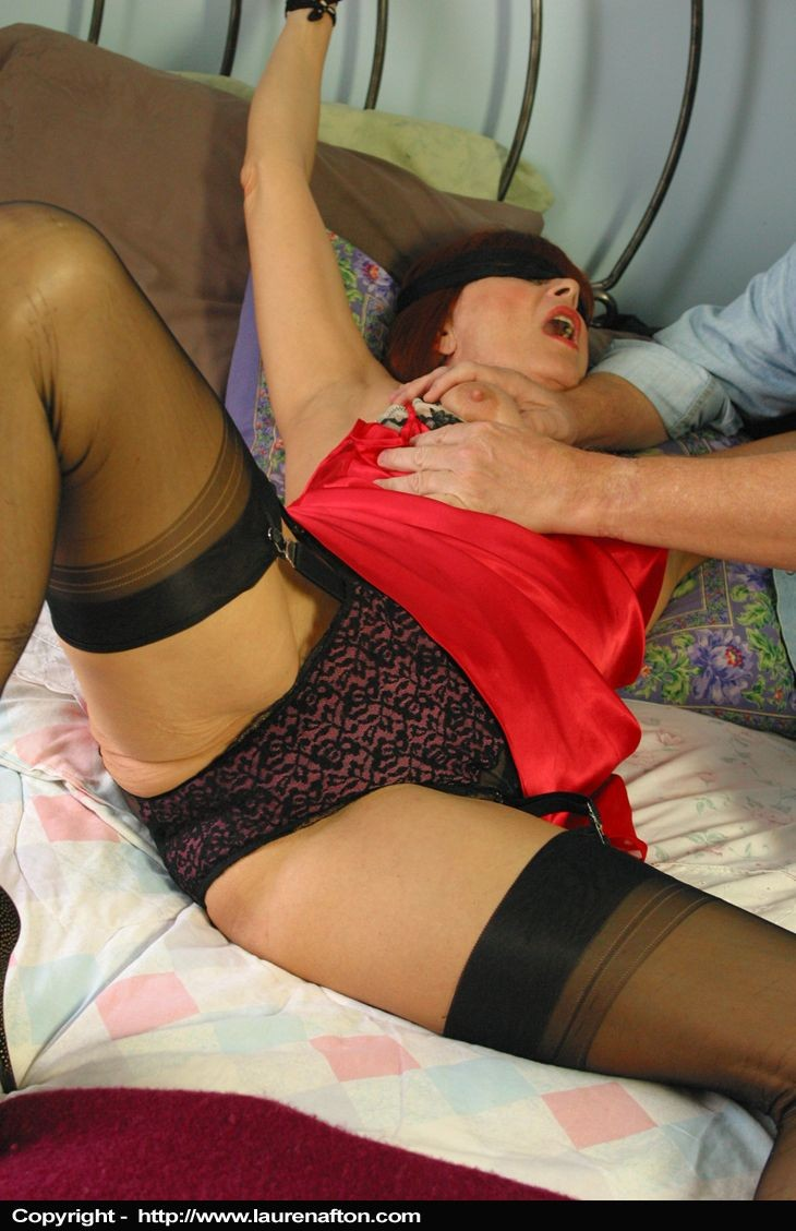 Sex tied up stockings