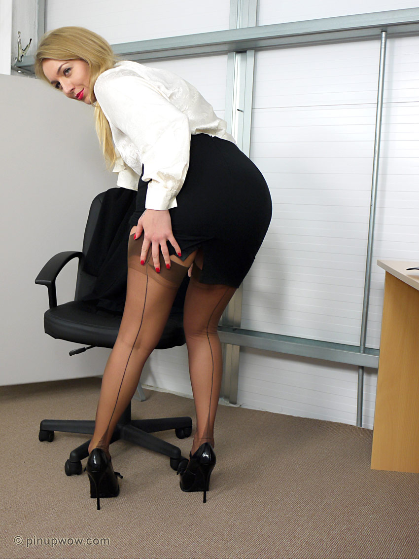 Apologise, but, big booty office skirt consider, that