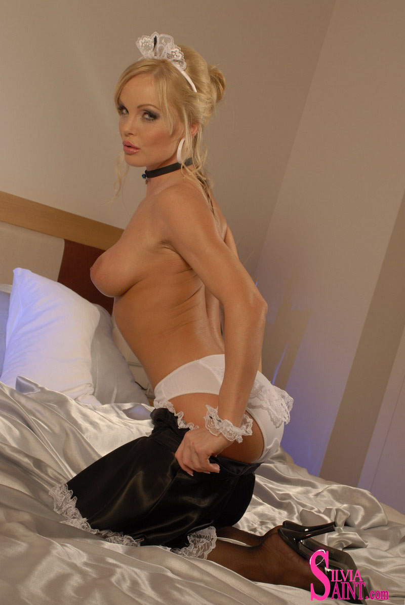 Maid silvia saint french