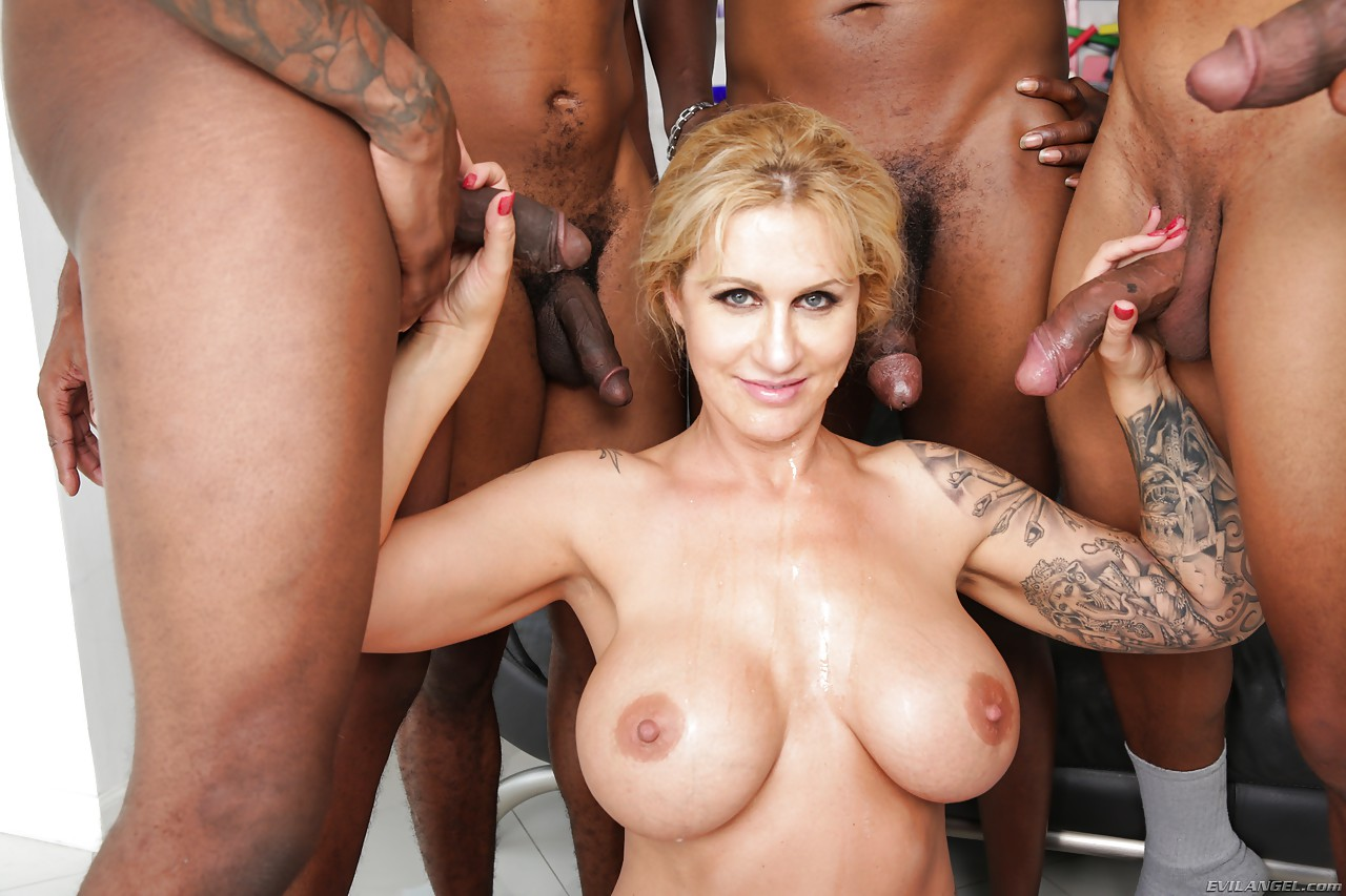 Blonde Milf Big Tits Massage