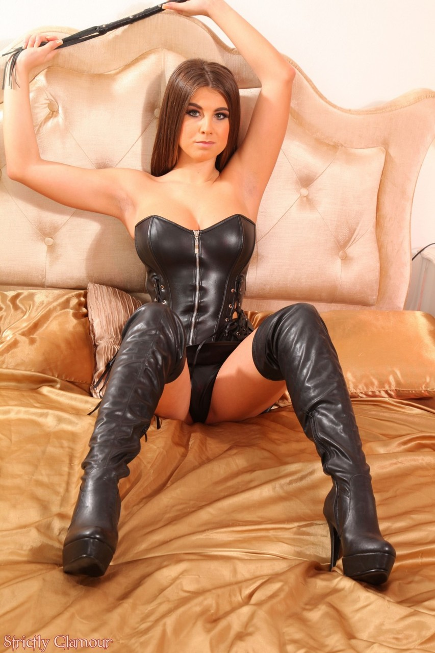 leather boots porn
