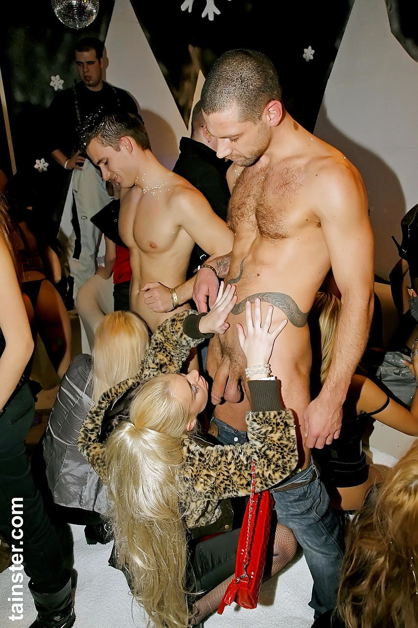 Male stripper sex party apologise, but