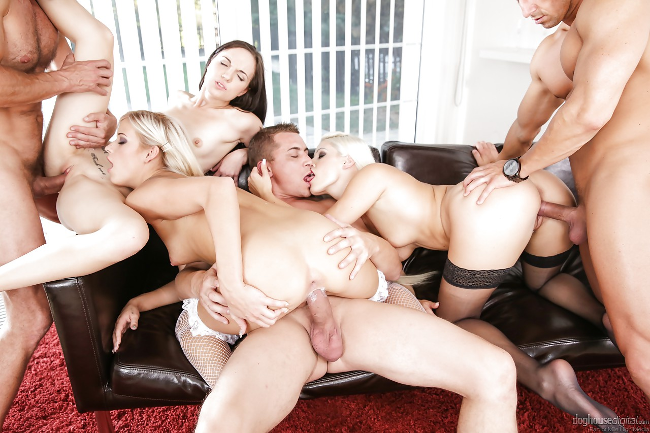 image The most beautiful orgy in the history of porn