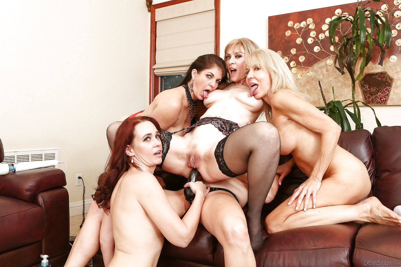 mature big ass orgy