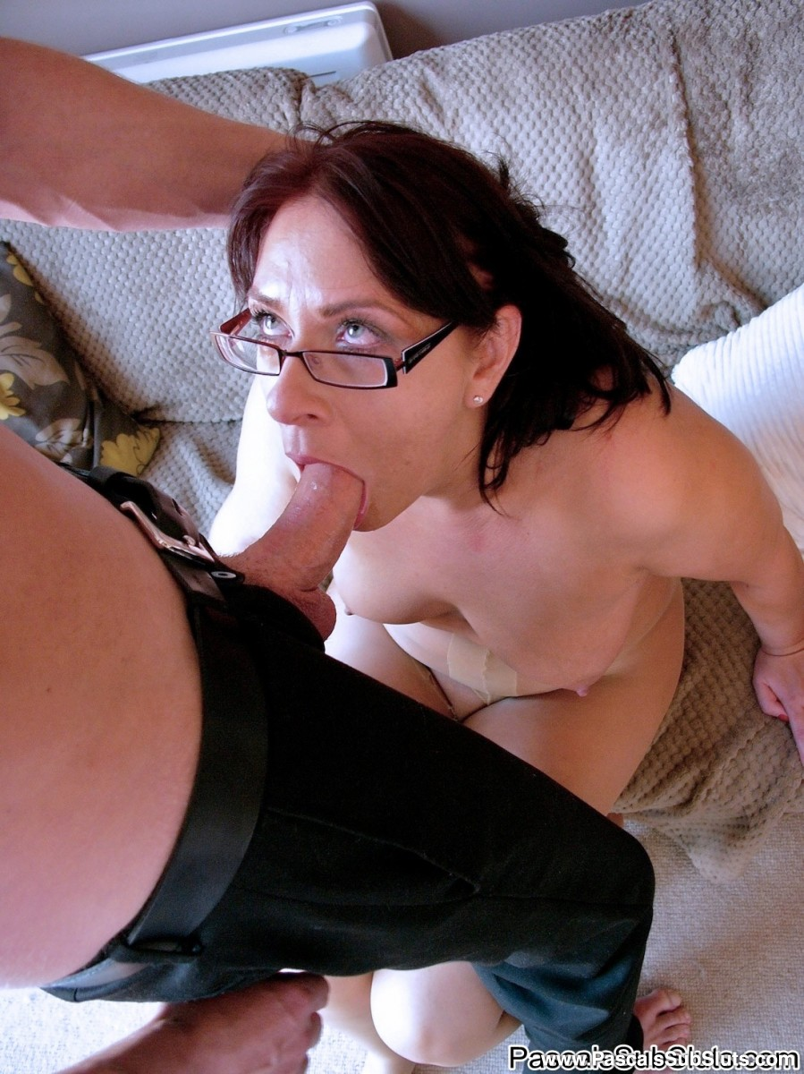 ... MILF in ripped pantyhose Amber Rodgers has wild anal session with her  lover ...