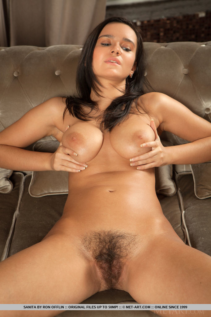 Brunette naked tits spread opinion you