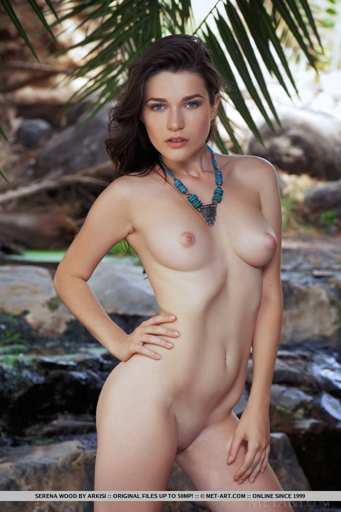 Teen babe serena nude brought question What