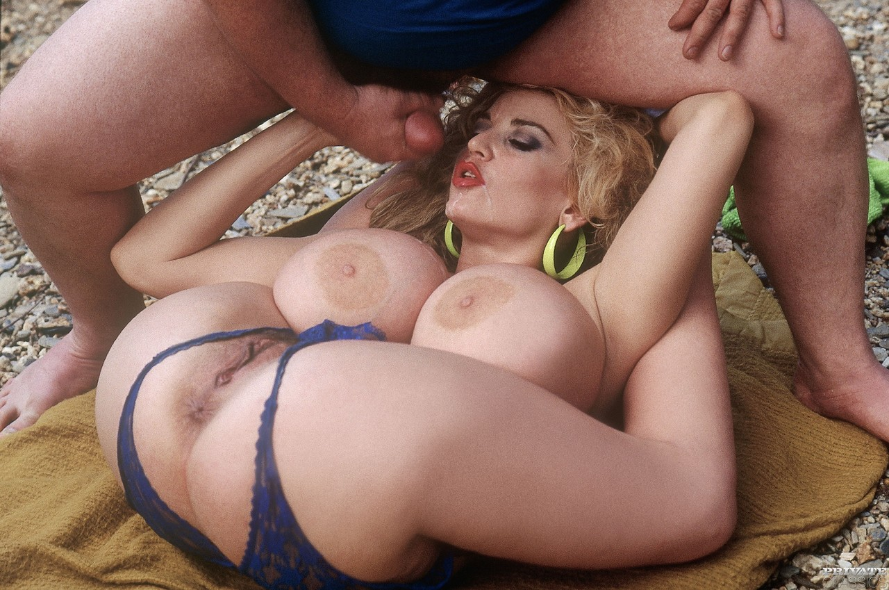 Big boob contortion