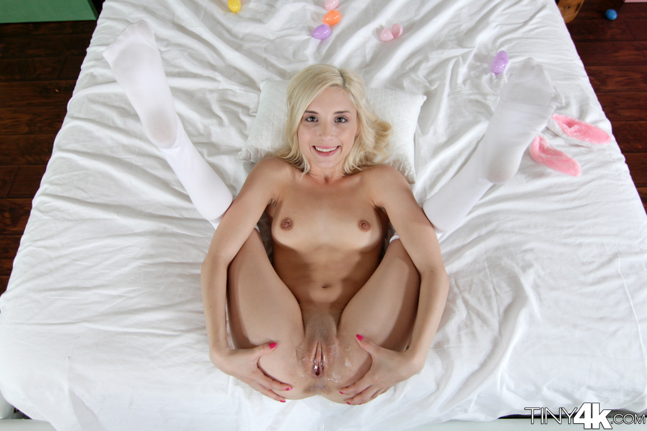 Pussy small gaping