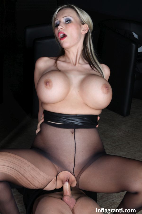 Pantyhose foot play before the charity event 4k