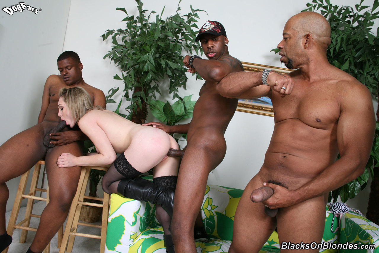 Really. And Blacks on blondes lily labeau