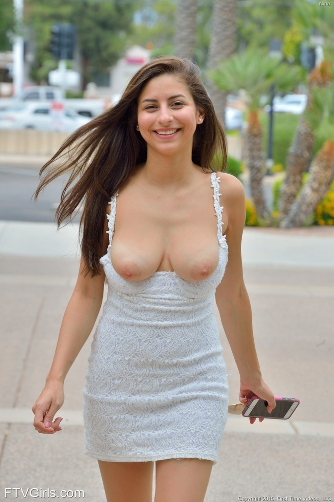 Teen pussy tits before and after short dress small tits