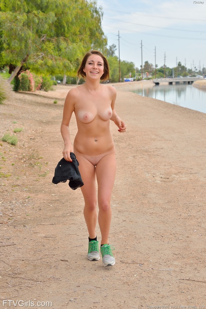 Teen stripping in public girl