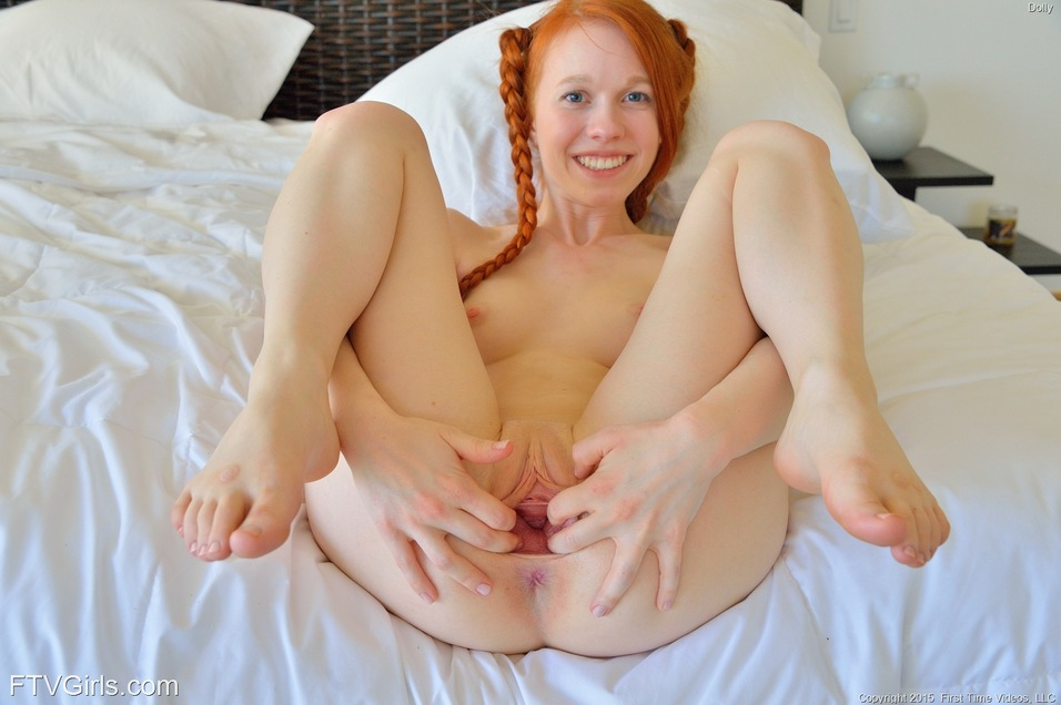 For the Big tit pigtail redhead girl are
