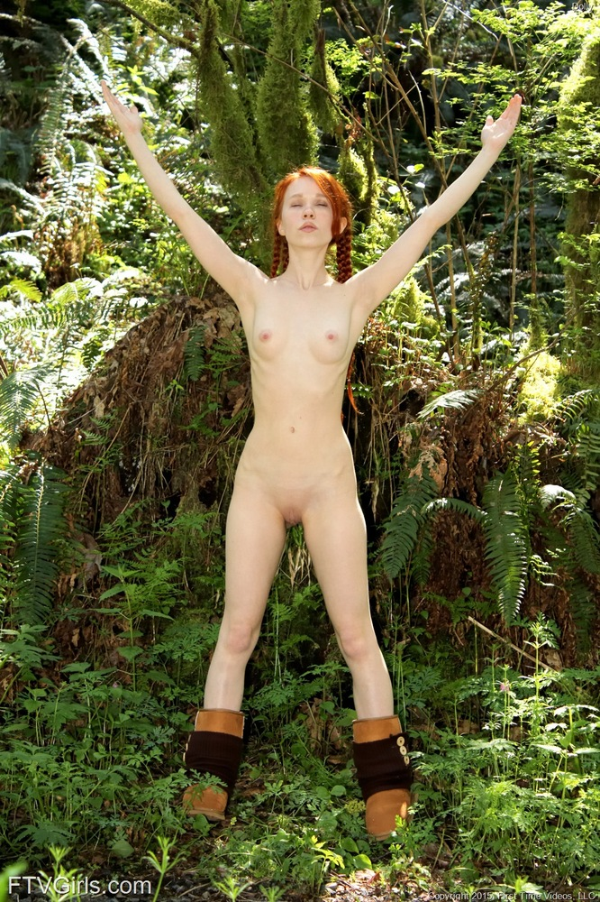 Would like redhead naked in black boots when